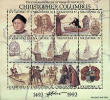 Ref. 44773 * NEW *  - NIUAFO'OU . 1992. 500th ANNIVERSARY OF AMERICA  DISCOVERY. 500 ANIVERSARIO DEL DESCUBRIMIENTO DE A - Tonga (1970-...)
