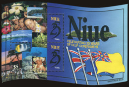 Ref. 348194 * NEW *  - NIUE . 1999. 25 ANIVERSARIO DEL AUTOGOBIERNO - Niue