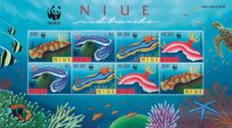 Ref. 75234 * NEW *  - NIUE . 1999. NUDIBRANCHS. NUDIBRANQUIOS - Niue