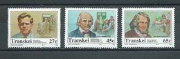 TRANSKEI  Yvert  N° 283-284-285 ** - Transkei