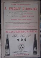 PUB 1893 - Deux F - Vins Spiritueux A. Bisquey D'Arraing, Old Jamaica Rum Fabon Son, A. Lambert, E. Magen - Advertising