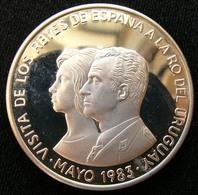 Uruguay 2000 Peso 1983 Royal Visit Silver Proof - Uruguay