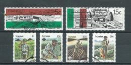 AFRIQUE DU SUD  Yvert  N° 96-97-103-104-105-106 Oblitérés - Transkei