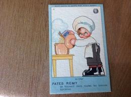 Carte Publicitaire Béatrice Mallet Pâtes Rémy - Ansichtskarten