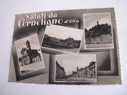 Cuneo - Saluti Da Corneliano D'Alba - Cuneo