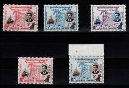 Cambodge - YV 84 à 86 N** Complete + Erreurs De Valeur 84A Et 85A N** - Cambodia