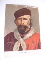 Personaggi Famosi  - Giuseppe Garibaldi - Cartoline