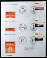 Denmark 2005  ATM/Frama Labels  MiNr.26-28 I FDC  ( Lot  6548 ) FOGHS COVER - FDC