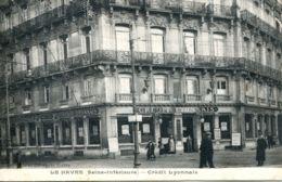 N°66177 -cpa Le Havre -Crédit Lyonnais- - Banques