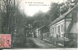 N°66178 -cpa Le Havre -forêt De Montgeon -maison Des Gardes Aux Sapinières- - Le Havre
