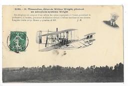 Aéroplane Système WRIGHT - M.TISSANDIER Pilote   -  L 1 - ....-1914: Precursors