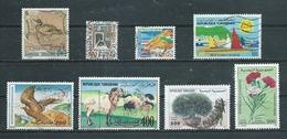 TUNISIE  Yvert  N° 816-853-889-915-926-1143-1356-1368  Oblitérés - Tunisie (1956-...)