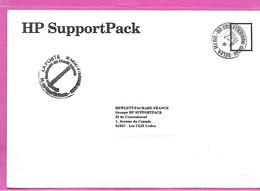 Carte En Franchise Oblitération  DELEG  MEDIT  MARSEILLE + Cachet Interne - Documents Of Postal Services