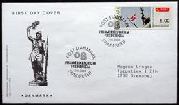 Denmark 2008  ATM/Frama Labels  MiNr.46  FDC  ( Lot  6548 ) FOGHS COVER - FDC
