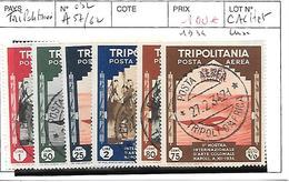 TRIPOLITAINE N° A 57/62 OBL - Libya