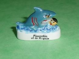 Fèves / Films / BD / Dessins Animés : Pinocchio Et Le Requin    T87 - Cartoons