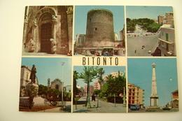 BITONTO    BARI  NON VIAGGIATA  COME DA FOTO IMMAGINE A COLORI   ARCH 39 - Bitonto
