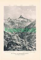 021 E.T.Compton Hafner Kleinelendtal Kunstblatt Druck 1898 !! - Prints