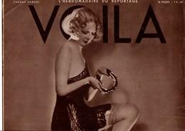 VOILA N°121 DU 15 JUILLET 1933  - CARNET D'UNE FEMME DE CHAMBRE - MANGEURS D'HOMMES - Journaux - Quotidiens