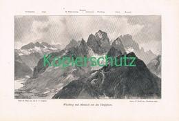 029 E.T.Compton Wischberg Montasch Panorama Kunstblatt 1900 !! - Prints