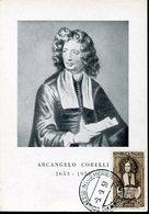 39974 Italia, Maximum 1953 Music Composer Arcangelo Corelli, Baroque Musicist And Violinist, - Music
