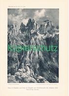 049-3 E.T.Compton Pale Di San Martino Kunstblatt Druck 1903 !! - Prints