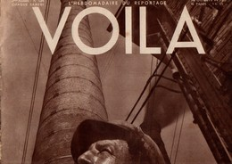 VOILA N°134 DU 14 OCTOBRE 1933 - VOILA CHEZ ROOSEVELT - LA SARRE: PAIX OU GUERRE - Journaux - Quotidiens
