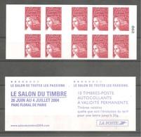 Carnet LUQUET Pour Guichets Y&T N° 3419 - C 15 - 10 TVP N° 3419. Neuf . TB. - Carnets