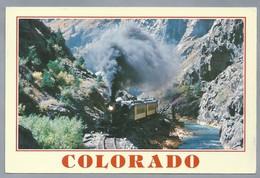 US.- COLORADO. NARROW GAUGE PASSENGER TRAIN. . - Treinen