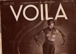 VOILA N°150 DU 3 FEVRIER 1934 - ¨PHRYNE A AUTEUIL - MES AMIS LES BETES - Journaux - Quotidiens