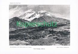 066 E.T.Compton Cerro Socompa Cordillere Druck 1906 !! - Prints