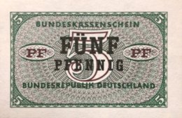 West Germany 5 Pfennig 1967 UNC, Ro.314/BRD-66 - [13] Bundeskassenschein