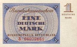 West Germany 1 Mark 1967 UNC, Ro.317/BRD-69 - [13] Bundeskassenschein