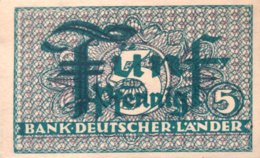 West Germany 5 Pfennig UNC, Ro.250a/BRD-11a - [ 7] 1949-… : RFA - Rep. Fed. Tedesca