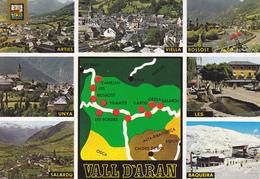 ESPAGNE / CARTE GEOGRAPHIQUE DU VAL D'ARAN - Maps