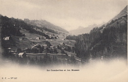 La Comballaz, Les Mosses (carte Précurseur), Pic Chaussy (2 Cartes) - VD Vaud