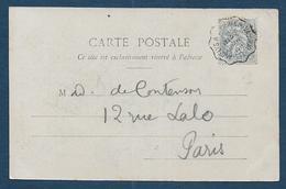 Cachet De Convoyeur  LES ANDELYS A  St PIERRE DU VAUVRAY - Marcophilie (Lettres)