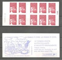 Carnet LUQUET Pour Guichets Y&T N° 3419 - C 14 - 10 TVP N° 3419. Neuf . Carnet Numéroté. TB - Carnets