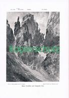 075 B E.T.Compton Monte Castellato Toro Druck 1907 !! - Prints