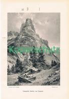 077 E.T.Compton Campanile Gambet Karnische Druck 1907 !! - Prints