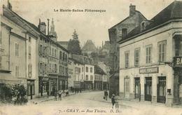 WW 70 GRAY. La Banque Populaire Rue Thiers 1939 - Gray