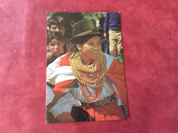 A Full Dressed Indian Woman. Cayambe 1986 - Native Americans