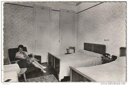 GU 17 - (64)  CIBOURE SAINT JEAN DE LUZ - HOTEL HELRO BAITA - H. DOUMENJOU PROPRIETAIRE - COIN DE CHAMBRE -  2 SCANS - Ciboure