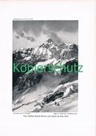 093 E.T.Compton Tour Salliere Bergsteiger Druck 1910 !! - Prints