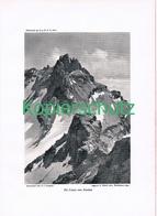 094 E.T.Compton Piz Cranz Druck 1910 !! - Prints
