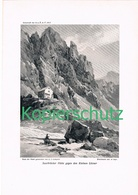 096 E.T.Compton Saarbrücker Hütte Litzner Druck 1912!! - Prints
