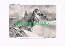 097 E.T.Compton Großlitzner Seehorn Druck 1912 !! - Prints
