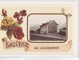 88 AB  LACABAREDE Souvenir De  (CPM) Très Bel état - France