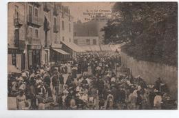 LE CREUSOT (71) - SAINT LAURENT 1904 - LE MARCHE RUE DE LA SABLIERE - Le Creusot