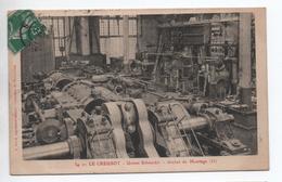 LE CREUSOT (71) - USINE SCHNEIDER - ATELIER DE MONTAGE - Le Creusot
